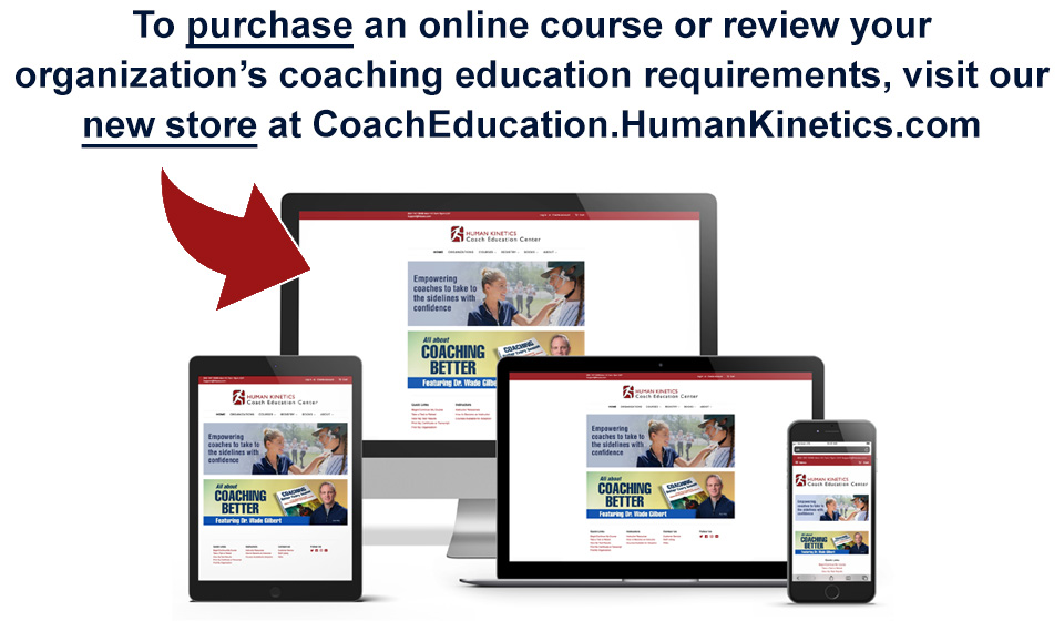 Human Kinetics Coach Education Store