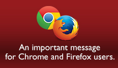 Chrome FireFox Browser Message